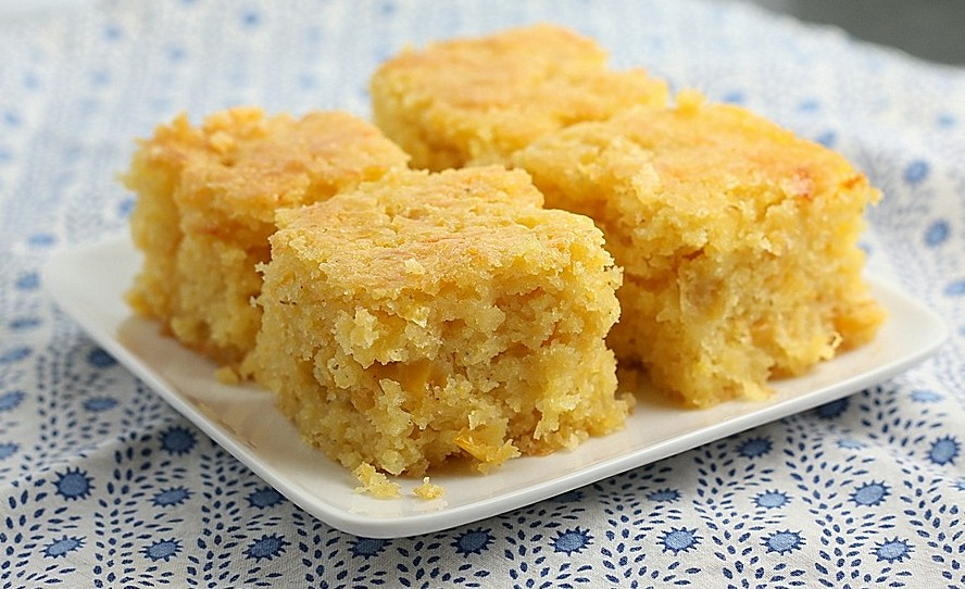 Thanksgiving Corn Bread From Anguilla! - Lulu and Lattes